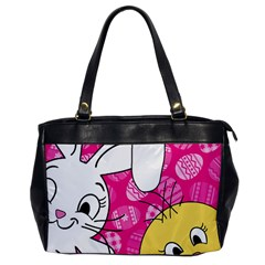 Easter bunny and chick  Office Handbags