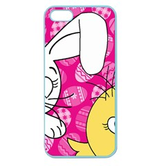 Easter bunny and chick  Apple Seamless iPhone 5 Case (Color)