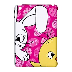 Easter bunny and chick  Apple iPad Mini Hardshell Case (Compatible with Smart Cover)