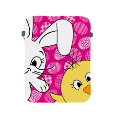 Easter bunny and chick  Apple iPad 2/3/4 Protective Soft Cases