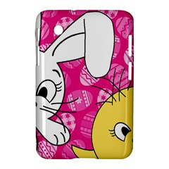 Easter bunny and chick  Samsung Galaxy Tab 2 (7 ) P3100 Hardshell Case