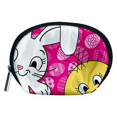 Easter bunny and chick  Accessory Pouches (Medium)