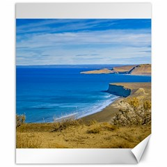 Seascape View From Punta Del Marquez Viewpoint, Chubut, Argentina Canvas 8  x 10