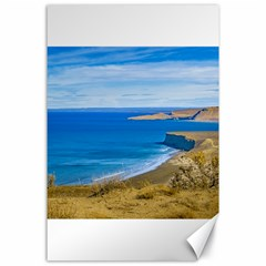 Seascape View From Punta Del Marquez Viewpoint, Chubut, Argentina Canvas 24  x 36