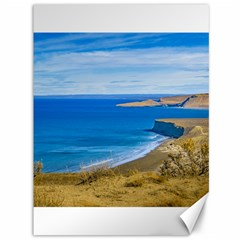 Seascape View From Punta Del Marquez Viewpoint, Chubut, Argentina Canvas 36  x 48