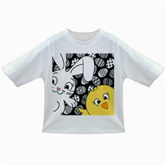 Easter bunny and chick  Infant/Toddler T-Shirts