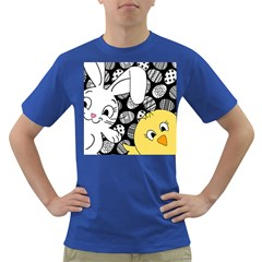Easter bunny and chick  Dark T-Shirt