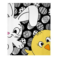 Easter bunny and chick  Shower Curtain 60  x 72  (Medium)
