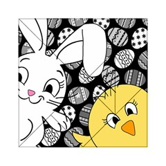 Easter bunny and chick  Acrylic Tangram Puzzle (6  x 6 )