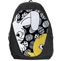 Easter bunny and chick  Backpack Bag
