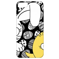 Easter bunny and chick  Apple iPhone 5 Classic Hardshell Case