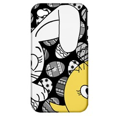 Easter bunny and chick  Apple iPhone 4/4S Hardshell Case (PC+Silicone)
