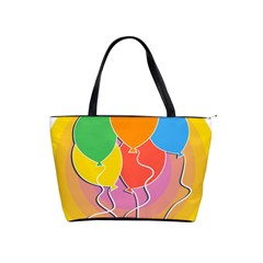 Birthday Party Balloons Colourful Cartoon Illustration Of A Bunch Of Party Balloon Shoulder Handbags