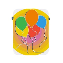 Birthday Party Balloons Colourful Cartoon Illustration Of A Bunch Of Party Balloon Apple Ipad 2/3/4 Protective Soft Cases
