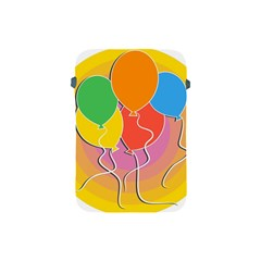 Birthday Party Balloons Colourful Cartoon Illustration Of A Bunch Of Party Balloon Apple iPad Mini Protective Soft Cases