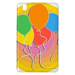 Birthday Party Balloons Colourful Cartoon Illustration Of A Bunch Of Party Balloon Samsung Galaxy Tab Pro 8 4 Hardshell Case