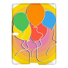 Birthday Party Balloons Colourful Cartoon Illustration Of A Bunch Of Party Balloon Samsung Galaxy Tab S (10.5 ) Hardshell Case