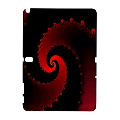 Red Fractal Spiral Galaxy Note 1