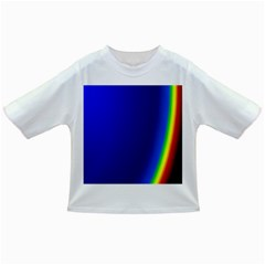 Blue Wallpaper With Rainbow Infant/toddler T Shirts