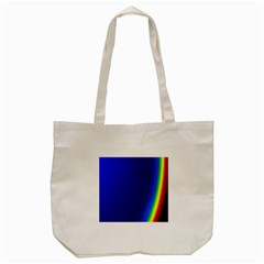 Blue Wallpaper With Rainbow Tote Bag (Cream)
