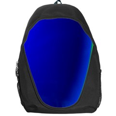 Blue Wallpaper With Rainbow Backpack Bag