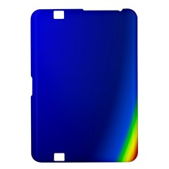 Blue Wallpaper With Rainbow Kindle Fire HD 8.9