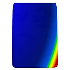 Blue Wallpaper With Rainbow Flap Covers (s)