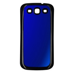 Blue Wallpaper With Rainbow Samsung Galaxy S3 Back Case (black)
