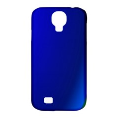 Blue Wallpaper With Rainbow Samsung Galaxy S4 Classic Hardshell Case (PC+Silicone)