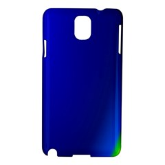 Blue Wallpaper With Rainbow Samsung Galaxy Note 3 N9005 Hardshell Case
