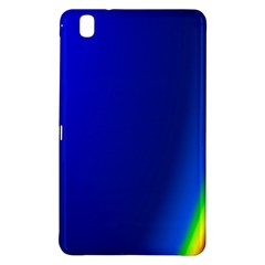 Blue Wallpaper With Rainbow Samsung Galaxy Tab Pro 8.4 Hardshell Case