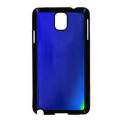 Blue Wallpaper With Rainbow Samsung Galaxy Note 3 Neo Hardshell Case (black)