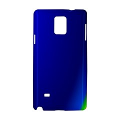 Blue Wallpaper With Rainbow Samsung Galaxy Note 4 Hardshell Case