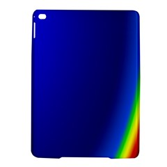 Blue Wallpaper With Rainbow Ipad Air 2 Hardshell Cases
