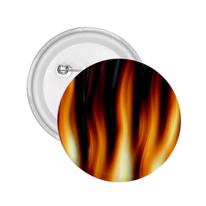 Dark Flame Pattern 2.25  Buttons