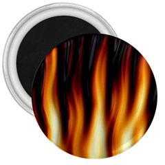 Dark Flame Pattern 3  Magnets