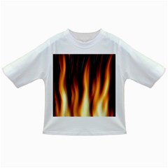Dark Flame Pattern Infant/Toddler T-Shirts
