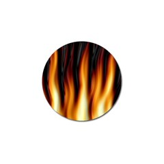 Dark Flame Pattern Golf Ball Marker (10 pack)