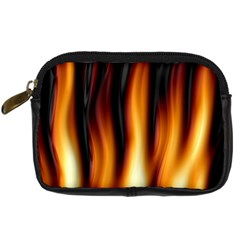 Dark Flame Pattern Digital Camera Cases