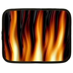 Dark Flame Pattern Netbook Case (XXL)