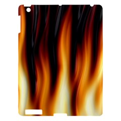 Dark Flame Pattern Apple Ipad 3/4 Hardshell Case