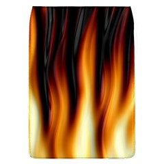 Dark Flame Pattern Flap Covers (L)