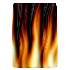 Dark Flame Pattern Flap Covers (S)