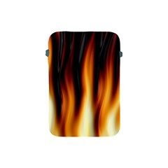 Dark Flame Pattern Apple Ipad Mini Protective Soft Cases
