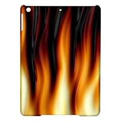 Dark Flame Pattern Ipad Air Hardshell Cases