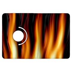 Dark Flame Pattern Kindle Fire Hdx Flip 360 Case