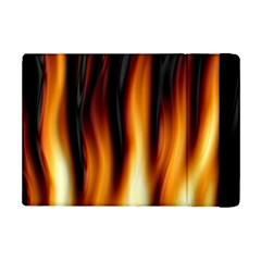 Dark Flame Pattern Ipad Mini 2 Flip Cases