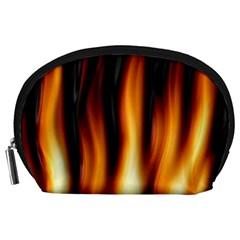 Dark Flame Pattern Accessory Pouches (large)