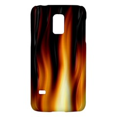 Dark Flame Pattern Galaxy S5 Mini