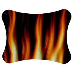 Dark Flame Pattern Jigsaw Puzzle Photo Stand (Bow)